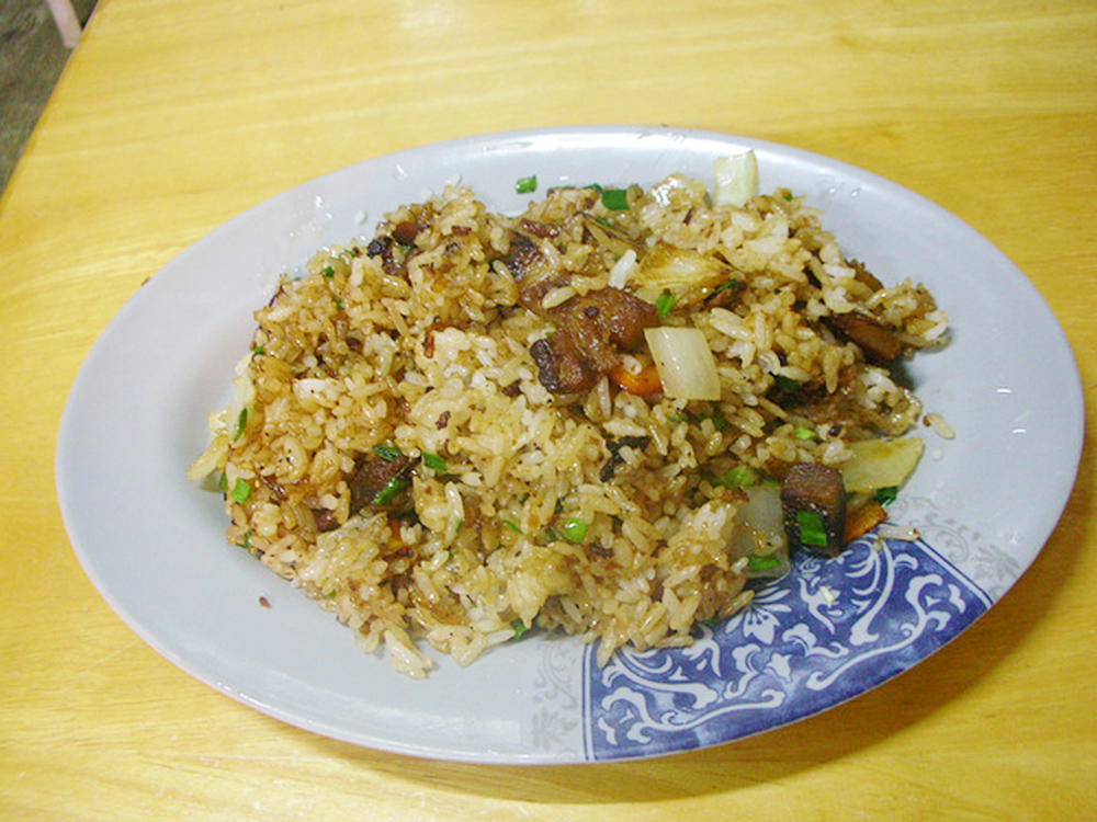 Fried Rice With Common Dolphinfish